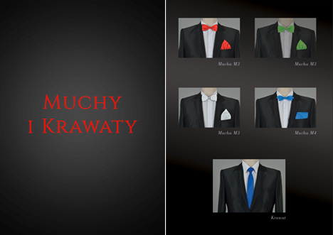 Muchy i krawaty